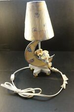 "Teddy Bear Lamp, Baby Nursery Lamp w/ Shade, Child's Room Lamp 15"" tall"