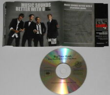 Big Time Rush - Music Sounds Better With U   U.S. promo cd