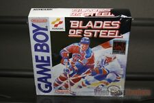Blades of Steel (Game Boy, 1991) H-SEAM SEALED! - ULTRA RARE!