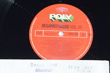 SESAMSTRASSE VOL. III LP 1977 Poly Archiv-Copy