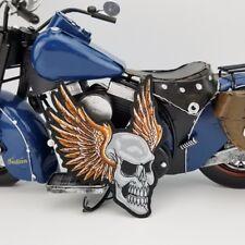 Biker Patch Death Head Skull&Wings Totenkopf Reaper Skull  MC Kutte Chopper