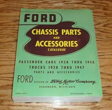 1928-1948 Ford Passenger Car & Truck Chassis Parts & Accessories Catalogue