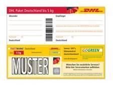 10 DHL Paketmarken bis 5 kg deutschlandweit Neu NP: 69,90€