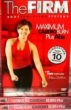 The Firm NEW! DVD, Maximum Cardio Burn Plus Abs BODY Workout  CALORIE BURN