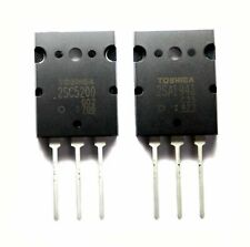 Toshiba 2SA19432SC5200 PNP NPN Audio Power Transistor - 1 Pair