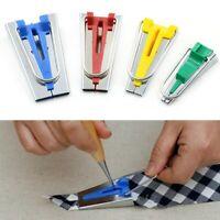 Bias Tape Maker Kit Set for Sewing Quilting Strip Awl  Binder Foot Case Tool g