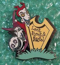Disney Dlr - Nbc Tombstone Series (Lock, Shock & Barrel) Pin