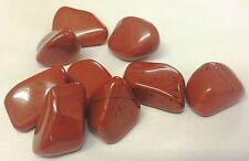 3 x BEAUTIFUL RED JASPER TUMBLESTONES - REIKI MEDITATION