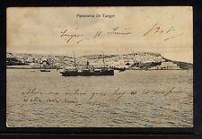 3119.-TANGER -Panorama de Tánger (1908)