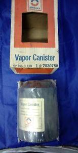1975-1977 PONTIAC GRAND PRIX VAPOR CANISTER NOS DELCO GM # 7030758 IN BOX