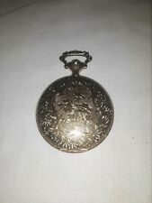 Vintage Timex Mechanical Wind Up Pocket Watch--GREAT LOOK