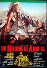 ONE MILLION YEARS B.C. Italian fotobusta photobusta poster 1 RAQUEL WELCH HAMMER
