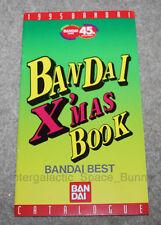 1995 Bandai Japan Product Power Ranger XMas Video Games Book Catalog Godzilla