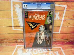 The Munsters #5 Gold Key 01/66 VINTAGE Comics CGC Universal Grade 8.5
