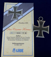 Göde Abzeichen Preussen  --Großkreuz 1914--