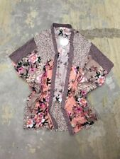 Umgee Size S/M Floral Print Boho Kimono NWT
