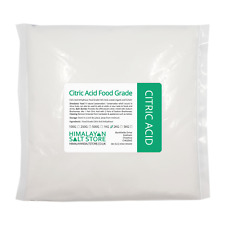 1KG CITRIC ACID ANHYDROUS | Food Grade | Bath Bombs Cleaning Descaling Home Brew