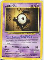 Zarbi o 70//132 pv50 pokemon card rare vf