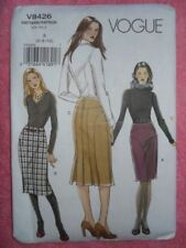 VOGUE # V8426 -Fitted Skirt Pattern Uncut /ff size 6-10