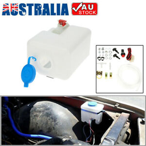 Universal Windscreen Washer Bottle Kit Cleaning Tools 12V for Cars Boat R2O6