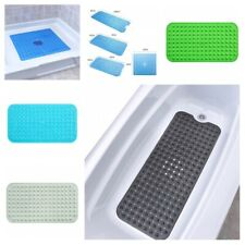 Safety Bathtub Floor Mat Portable Non Slip Suction Shower Bathroom Accessories
