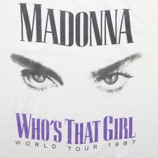 Rare! 1987 Madonna Who's That Girl Tour T-Shirt Size S M L 234XL P149