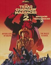 *NEW* THE TEXAS CHAINSAW MASSACRE 2 Blu-ray Disc, 2014, Canadian with Faceplate