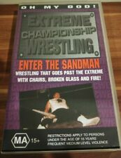 "Ecw ""Enter The Sandman"" Vhs Pal New Nos Extreme Championship Wrestling Wwe Rare"