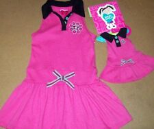 """NEW WHAT A DOLL  DRESS Matching dress for 18"""" AMERICAN GIRL DOLL  Size ,4-5"""