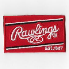 Rawlings II Baseball Softball Glove iron on patch embroidered patches Red