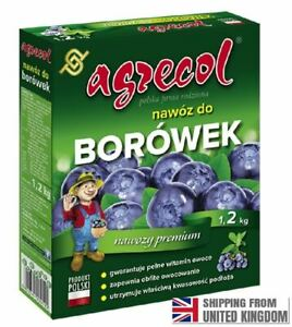 Blueberry fertilizer, American blueberry and blue honeysuckle, 1,2KG, AGRECOL