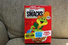 Vtg1983 Kellogg's Sugar Smacks EMPTY Cereal Box Odyssey 2 Video Game Sweepstakes