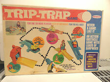 1969 REMCO TRIP-TRAP OBSTACLE COURSE GAME MINT IN BOX NEVER USED