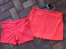 NIKE GOLF Dri Fit  Skirt & Detachable Shorts 586842 sz M NWT $75.00 Color 603