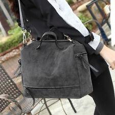 Vintage Women Punk Hobo Leather Handbag Cross Body Totes Messenger Shoulder Bag