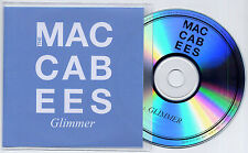 THE MACCABEES Glimmer 2012 UK 1-trk promo test CD