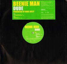 BEENIE MAN dude VUSTDJ 282 promo uk virgin 2004 LP PS EX/EX