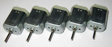 5 X Mabuchi FK-280 Motors - 10 to 15 VDC - Model Train Motor - 8000 RPM
