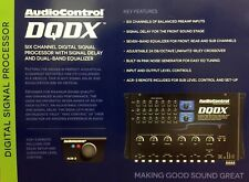 New Audio Control Dqdx 6-Channel Performance Digital Signal Processor with Eq