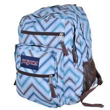 JANSPORT Vintage Big Campus Zig-Zag Print Backpack Rucksack School Laptop Bag