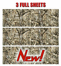 3 GLOSS CAMO DECAL MADE FROM 3M WRAP VINYL TRUCK CAMO TREE PRINT BUCK CAMOUFLAGE