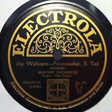 "ALBERT COATES wagner die walkuere 12""  VG+ ELECTROLA E J 32 Vinyl  Record"