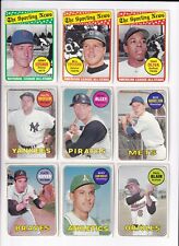 *1969 Topps 5th Series Baseball PICK LOT-YOU Pick any 1 of the 7 cards for $1!*