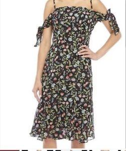 NWT Nanette Lepore Sz 10 Dress Paradise Dreaming Floral Print  $159
