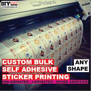 Custom Sticker Vinyl Printed Bulk Order Decals Labels Logos Signs Stickers