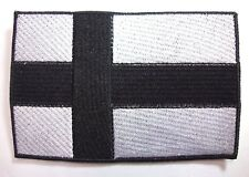 FINLAND BLACK FLAG  EMBROIDERED  PATCH