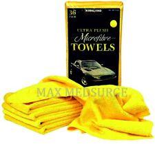 Kirkland Eurow Microfibre Ultra Plush 40 x 40cm Microfiber Cloth, Car Towels