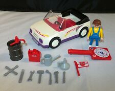 Playmobil 3615 - Quick Service Mechanic Car & Accessories
