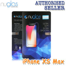2x Genuine Nuglas Premium Tempered Glass Screen Protector Apple iPhone XS Max