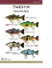 WESTIN BARRY THE BASS (HL/SB)FISHING LURE ( LIVELY ROACH )